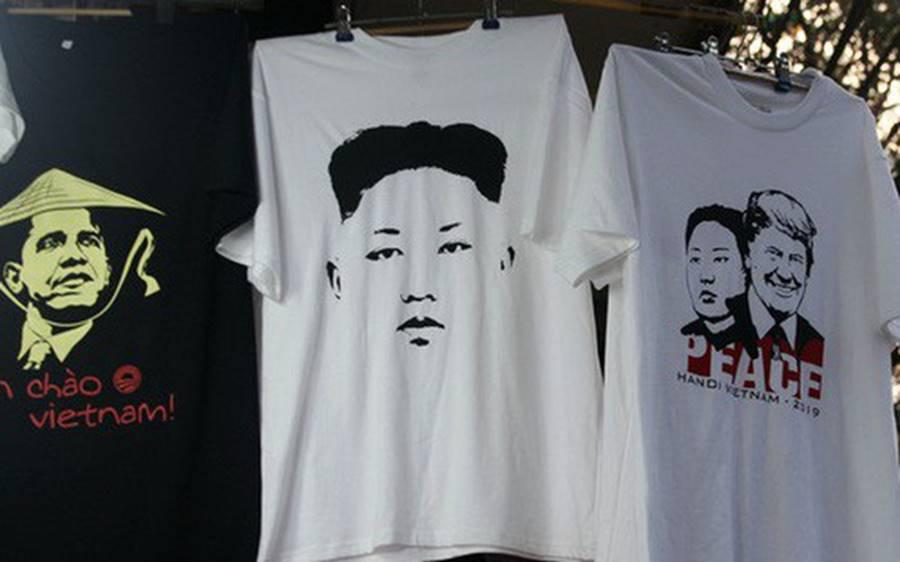 Kiếm chục triệu mỗi ngày nhờ bán áo in hình Donald Trump - Kim Jong Un-1
