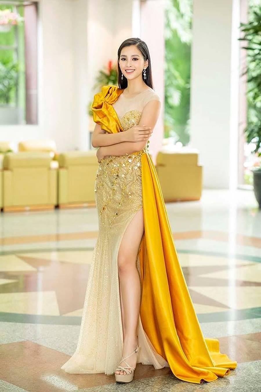 Hoa hậu Tiểu Vy, Á hậu Phương Nga đốn tim fans với váy áo lộng lẫy-2