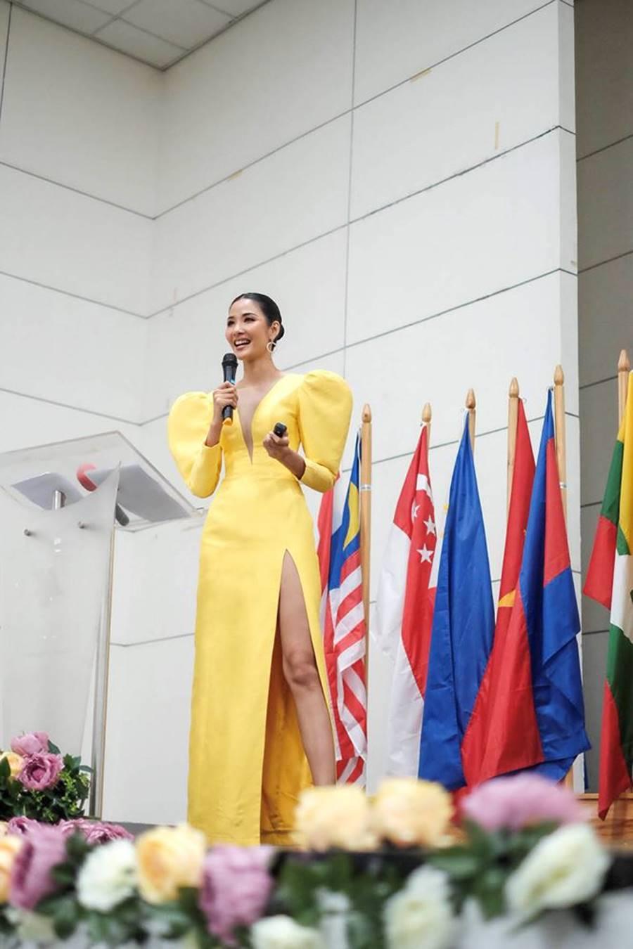 Hoa hậu Tiểu Vy, Á hậu Phương Nga đốn tim fans với váy áo lộng lẫy-6