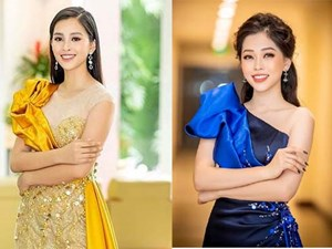 Hoa hậu Tiểu Vy, Á hậu Phương Nga 'đốn tim' fans với váy áo lộng lẫy