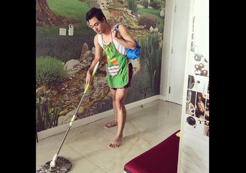 Cận cảnh căn hộ siêu sang của nam MC điển trai về nhà là cởi com-lê dọn dẹp giúp vợ-1