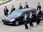 Đoàn tiền trạm Triều Tiên về khách sạn ở Hà Nội-9