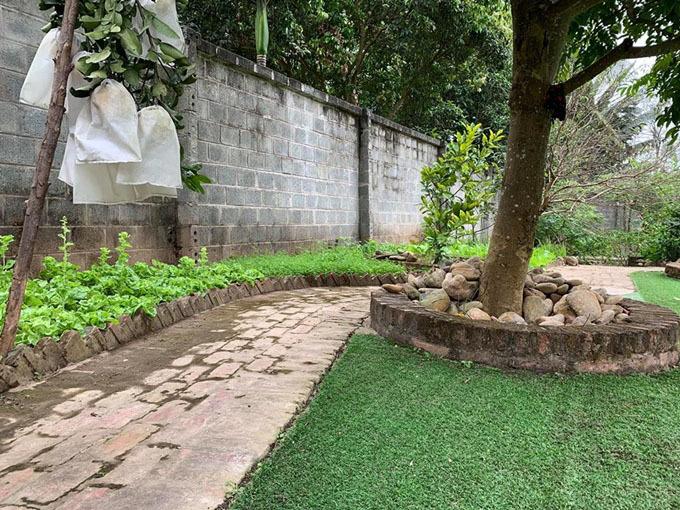Cơ ngơi hoành tráng với nhà vườn rộng rãi của diễn viên Hồng Đăng-7