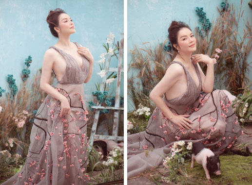 Tiếp tục đăng ảnh cũ, Phạm Hương khơi lại màn đụng váy không khoan nhượng với Tiểu Vy và Lý Nhã Kỳ-3