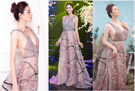 Tiếp tục đăng ảnh cũ, Phạm Hương khơi lại màn đụng váy không khoan nhượng với Tiểu Vy và Lý Nhã Kỳ-5