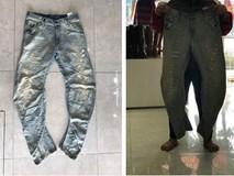 Lỡ miệng miêu tả chồng chân vòng kiềng với chủ shop, cô gái ngã ngửa khi nhận đồ về tay