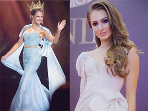 Nhan sắc xinh đẹp, bốc lửa của Hoa hậu Hòa bình vừa bị tước danh hiệu