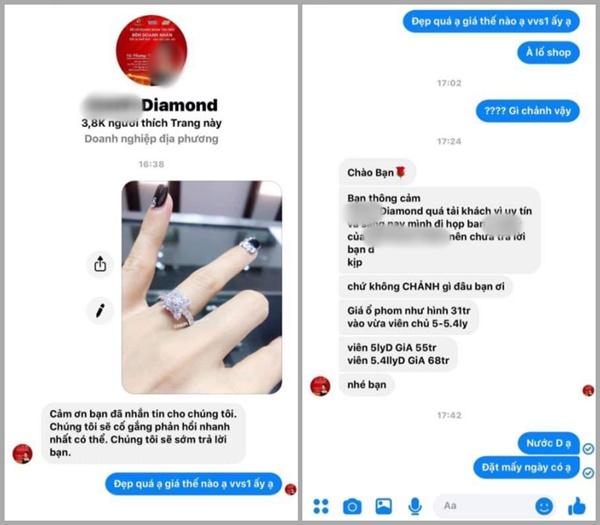 LẠ THẬT SỰ NÈ: Hồng Quế lại bị bóc phốt kiên trì bốc phét nhẫn kim cương 55 triệu biến thành 500 triệu chồng tặng-5
