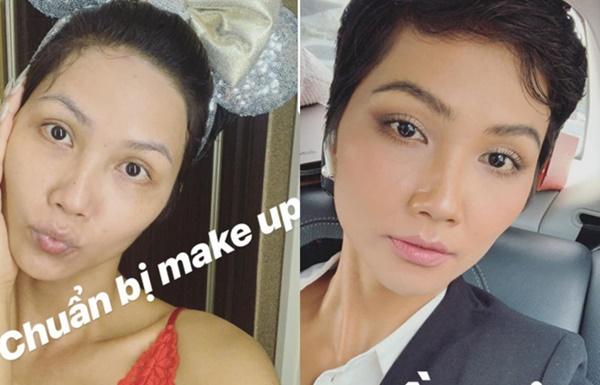 Hoa hậu, á hậu và các người đẹp Việt khác lạ khi để mặt mộc-1