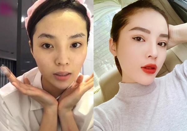 Hoa hậu, á hậu và các người đẹp Việt khác lạ khi để mặt mộc-9