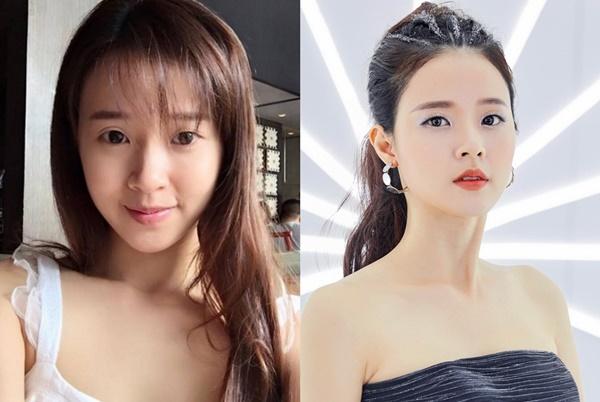 Hoa hậu, á hậu và các người đẹp Việt khác lạ khi để mặt mộc-10
