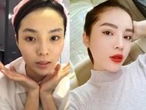 Hoa hậu, á hậu và các người đẹp Việt khác lạ khi để mặt mộc