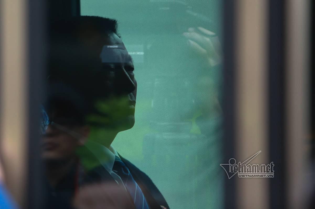 Đoàn tiền trạm Triều Tiên về khách sạn ở Hà Nội-7