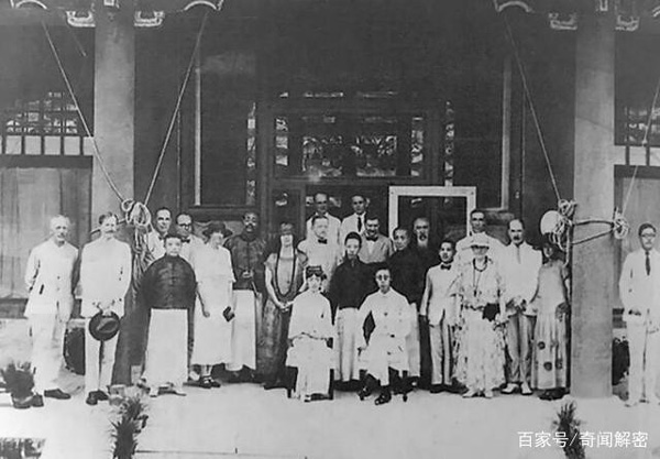 Ảnh hiếm chưa từng được hé lộ trong hôn lễ Hoàng đế Phổ Nghi - vị vua cuối cùng của nhà Thanh-11