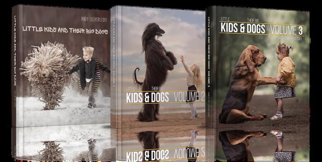 Bộ ảnh đẹp đến nao lòng của các bé chụp cùng thú cưng khổng lồ khiến ai nấy đều phải ngẩn ngơ, trầm trồ-2