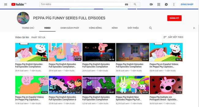 Phụ huynh bức xúc vì phim hoạt hình nổi tiếng dành cho trẻ em Peppa Pig bị biến tướng trên Youtube, chứa nội dung độc hại phản cảm-6