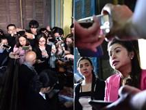 Vợ chồng 'vua' cà phê Trung Nguyên trong vòng vây báo chí tại tòa