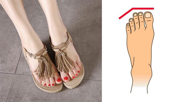 3 kiểu bàn chân của người phụ nữ thiên phú, trường thọ, đã xinh đẹp còn giàu sang khét tiếng 1 vùng-3