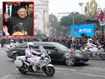 Xe chống đạn của ông Kim Jong Un lăn bánh trên đường phố Hà Nội-12