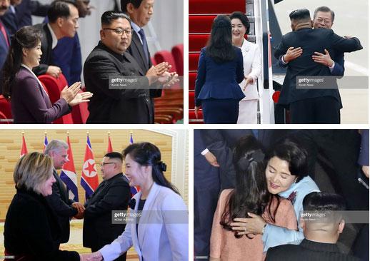 Ngoài phong cách, Đệ nhất phu nhân Triều Tiên còn sở hữu làn da và mái tóc đáng ngưỡng mộ-1