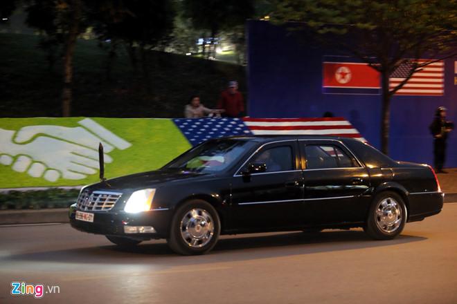 Tổng thống Trump cảm ơn Việt Nam sau khi đặt chân tới Hà Nội-40