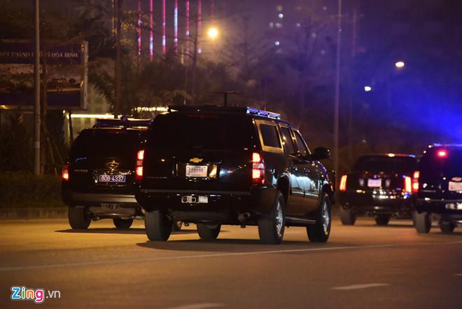 Tổng thống Trump cảm ơn Việt Nam sau khi đặt chân tới Hà Nội-29
