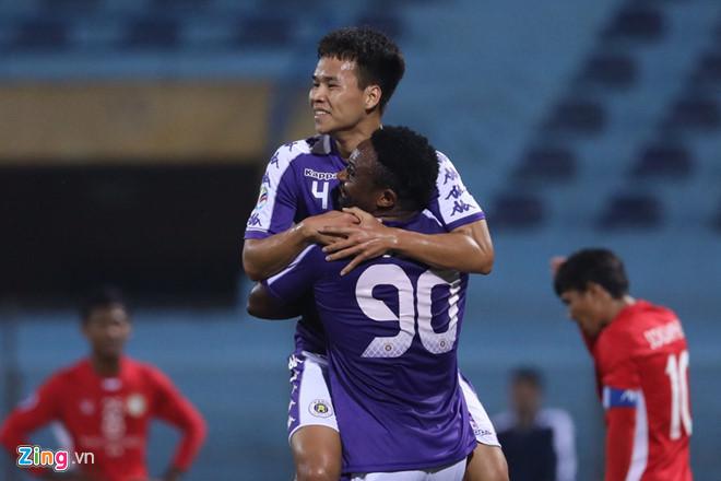 Thắng trận 10-0, CLB Hà Nội đi vào lịch sử AFC Cup-1