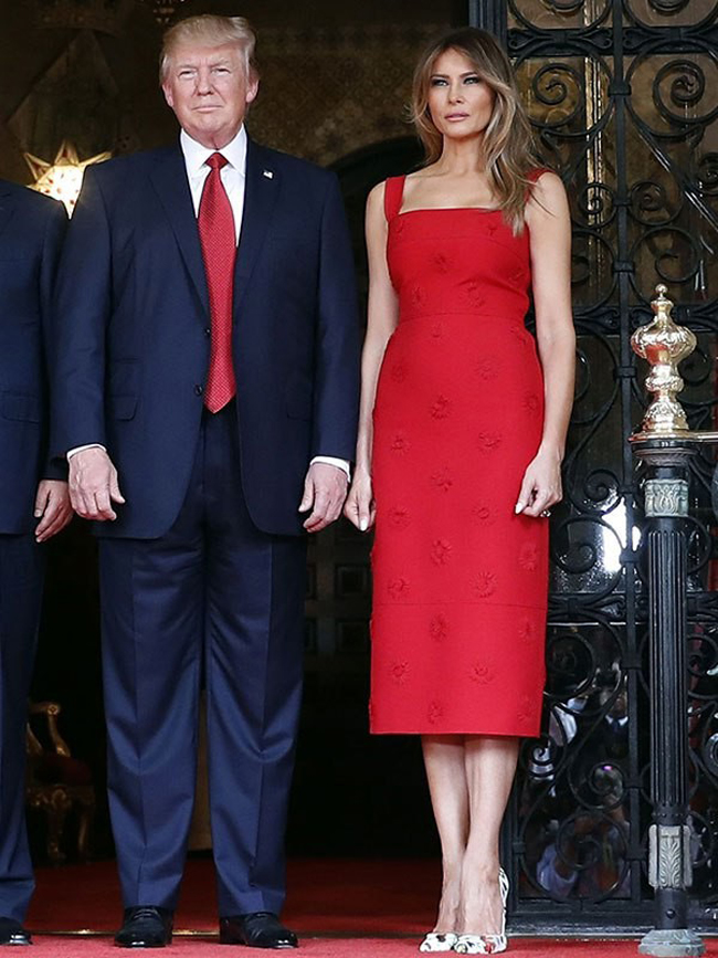 Vẻ đẹp mặn mà, quyến rũ của vợ Tổng thống Trump từng là siêu mẫu đắt giá-12
