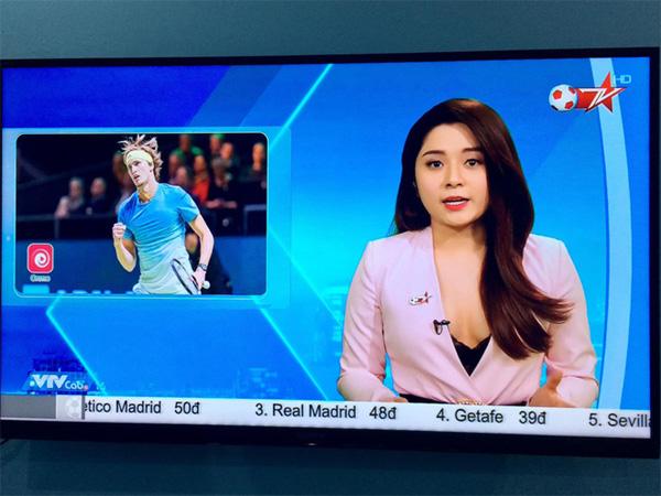 BTV truyền hình Việt gây sốc với trang phục quá gợi cảm khi dẫn chương trình-2