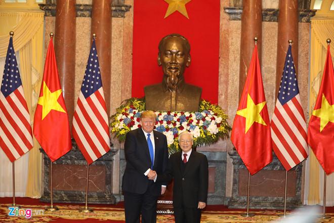 Thủ tướng Nguyễn Xuân Phúc hội kiến Tổng thống Trump-16