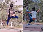 Sợ rớt môn Thể dục, cậu học sinh cố nhảy dây đến mức tụt cả quần vẫn không ngừng lại khiến dân mạng cười bò-1