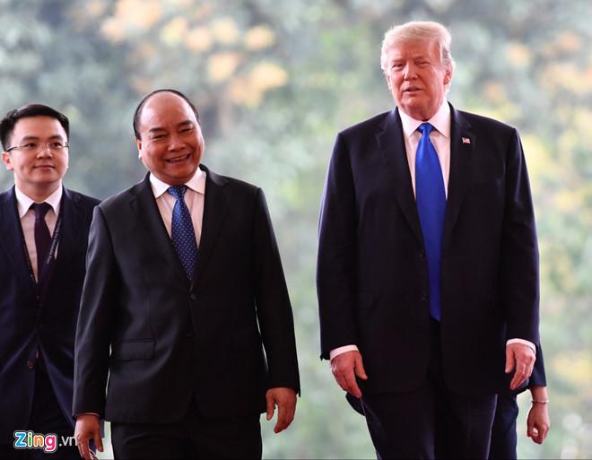 Thủ tướng Nguyễn Xuân Phúc hội kiến Tổng thống Trump-12