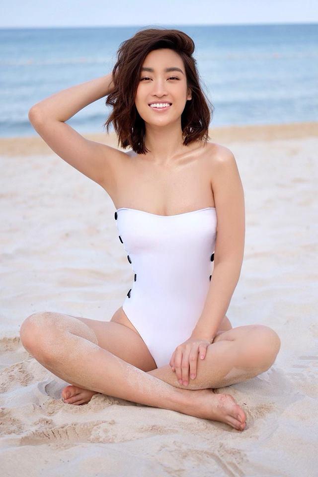 Hoa hậu nghèo Đỗ Mỹ Linh đụng hàng đồ tắm với nữ hoàng giải trí Hồ Ngọc Hà và BB Trần: ai đẹp hơn ai?-2
