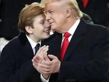 Bố là tỷ phú trước khi làm Tổng thống, con trai Donald Trump vẫn cắt cỏ, nhặt gạch kiếm tiền