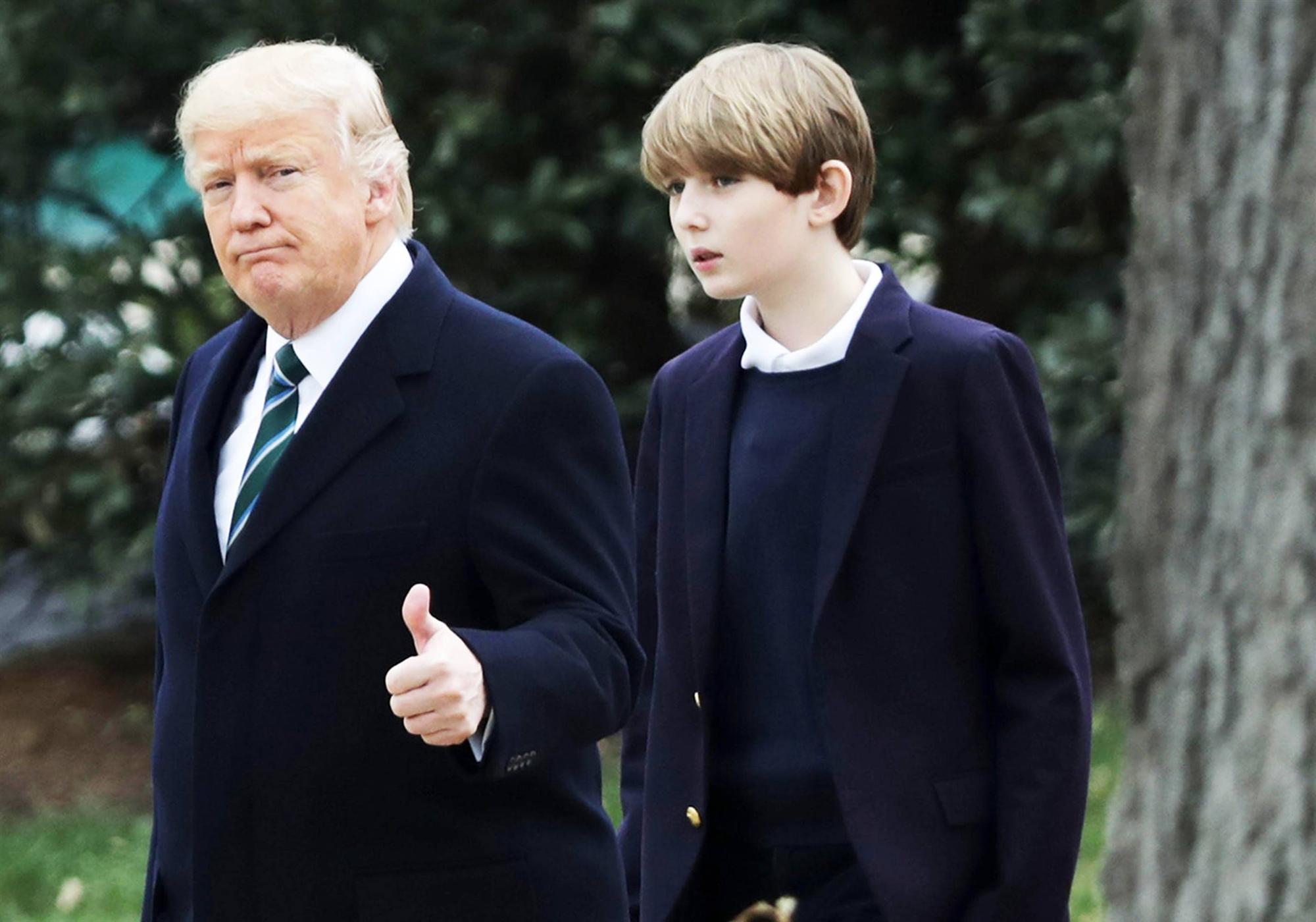 Trường học của con trai út Tổng thống Trump có gì đặc biệt?-1