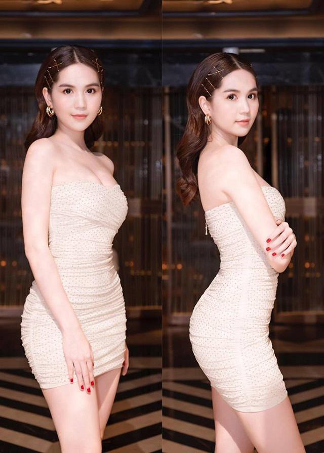 Chán váy áo hở bạo, Ngọc Trinh diện lại đồ cũ tone màu cẩm hường vẫn đẹp ngất ngây-2