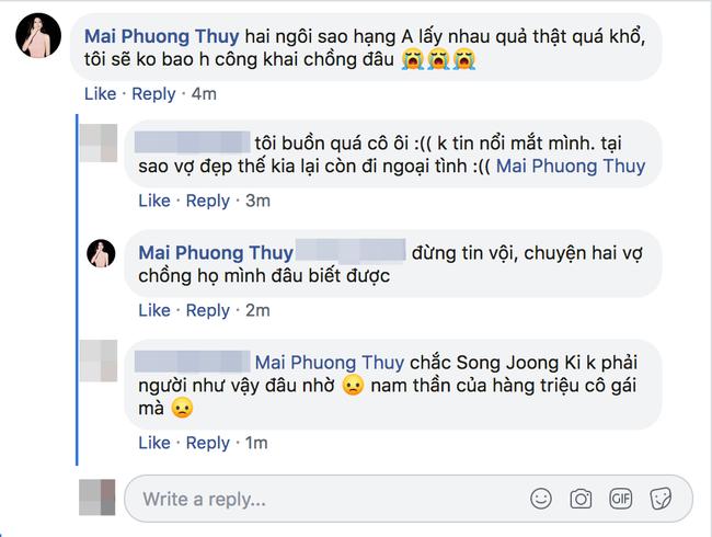 Nghe tin đồn Song Joong Ki ngoại tình, Mai Phương Thuý khẳng định sẽ không bao giờ công khai chồng đâu-2