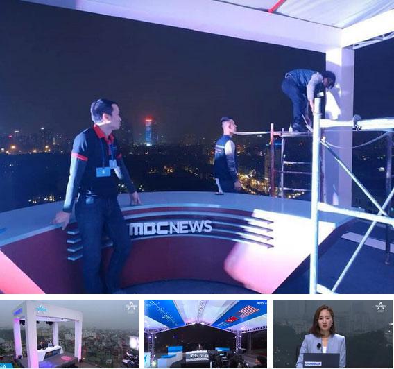 Vì sao các hãng thông tấn quốc tế đều chọn những nóc nhà của Hà Nội để đưa tin về Hội nghị thượng đỉnh Mỹ - Triều?-14