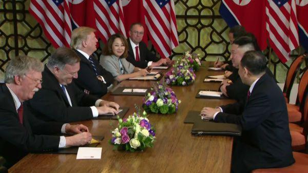 Hủy ăn trưa và không tuyên bố chung, hai nhà lãnh đạo Trump - Kim bỏ về khách sạn sớm-7