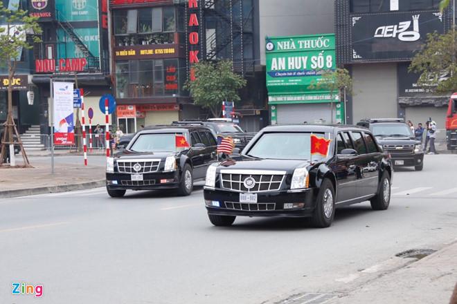 Tổng thống Trump lên Air Force One rời Nội Bài-13
