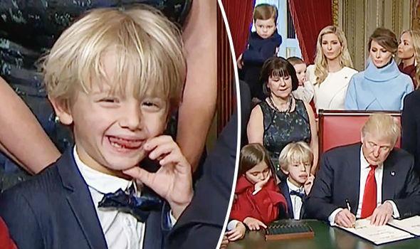 Sau quý tử út, đến lượt dàn cháu xinh như thiên thần của Tổng thống Trump gây sốt, nổi trội nhất là 3 đứa trẻ bên ngoại-9