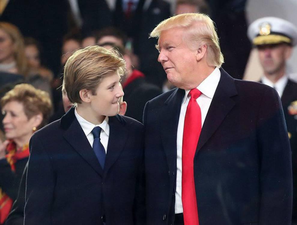 Cuộc sống đi lùi để quay lại vạch đích của con trai út Tổng thống Trump: Đến trường học cũng sang chảnh bậc nhất nước Mỹ-4