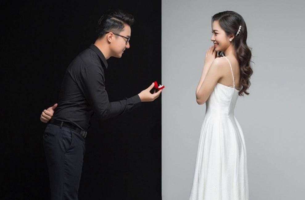 MC Cà phê sáng Dương Sơn Lâm tung ảnh cưới ngọt ngào với vợ 9X-4