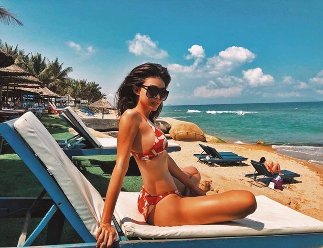 Chưa tới hè, loạt mỹ nữ Việt đã diện bikini khoe đường cong hút mắt-14