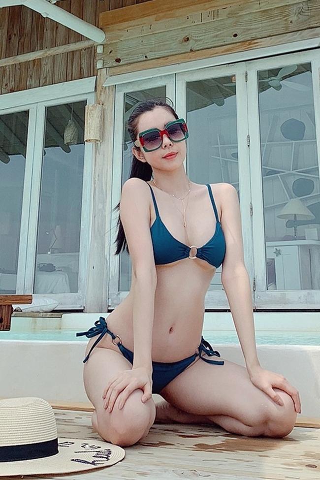 Chưa tới hè, loạt mỹ nữ Việt đã diện bikini khoe đường cong hút mắt-7