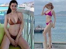 Chưa tới hè, loạt mỹ nữ Việt đã diện bikini khoe đường cong hút mắt
