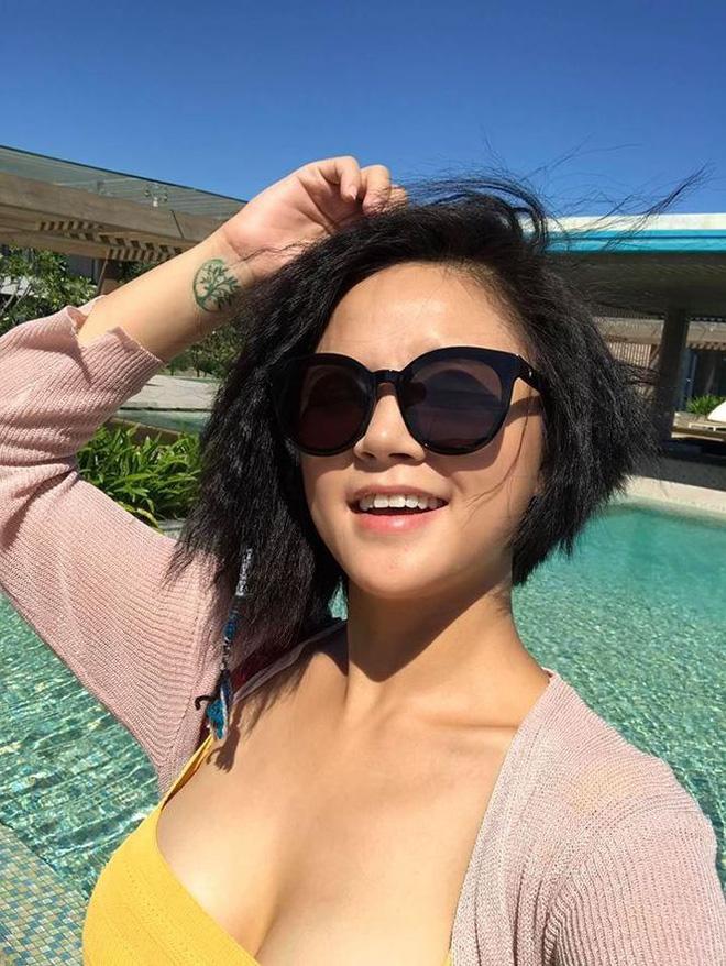 Bỏng mắt ngắm loạt mỹ nhân Việt khoe body gợi cảm với bikini-7