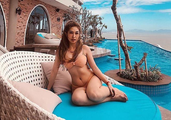 Bỏng mắt ngắm loạt mỹ nhân Việt khoe body gợi cảm với bikini-12