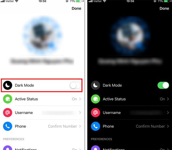 Hô biến Facebook Messenger sang Dark Mode đen huyền bí chỉ bằng 2 bước đơn giản-2