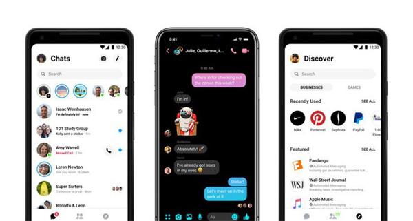 Hô biến Facebook Messenger sang Dark Mode đen huyền bí chỉ bằng 2 bước đơn giản-3